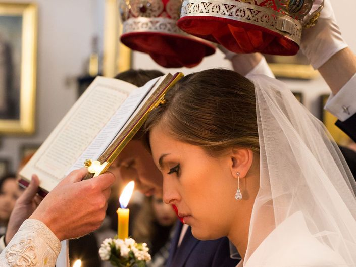 Fotografia ślubna Warszawa, ceremonia prawosławna cerkiew
