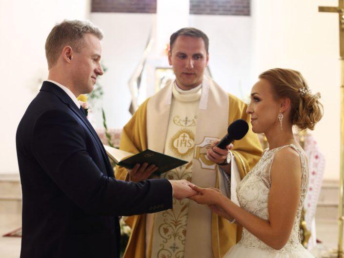 Fotografia ślubna Warszawa, ceremonia