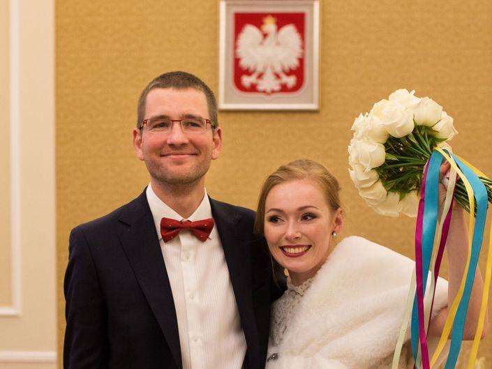 Fotografia ślubna Warszawa, ślub cywilny
