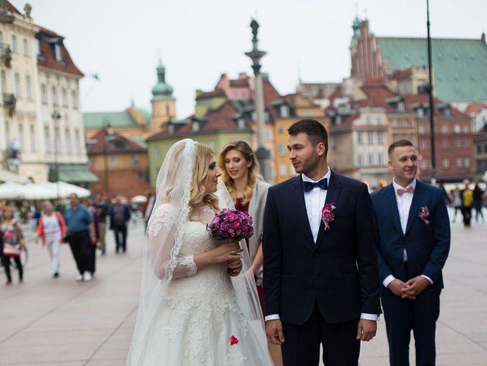 Fotografia ślubna Warszawa, ślub kościelny