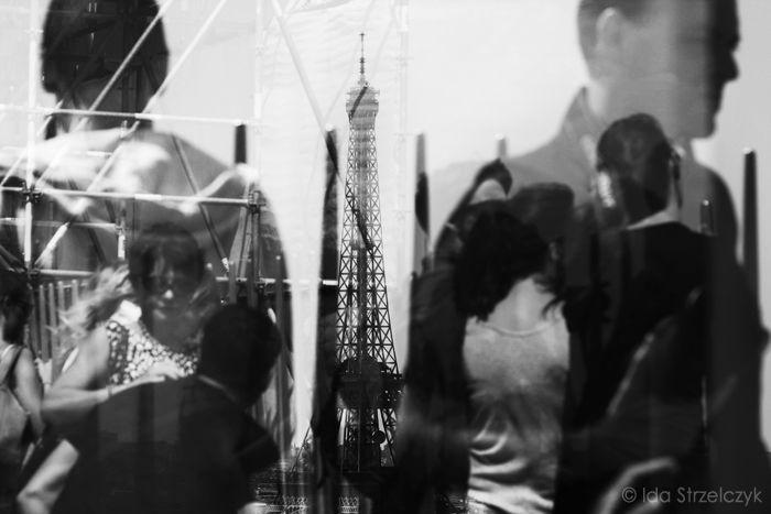 Paryż czarno-biały