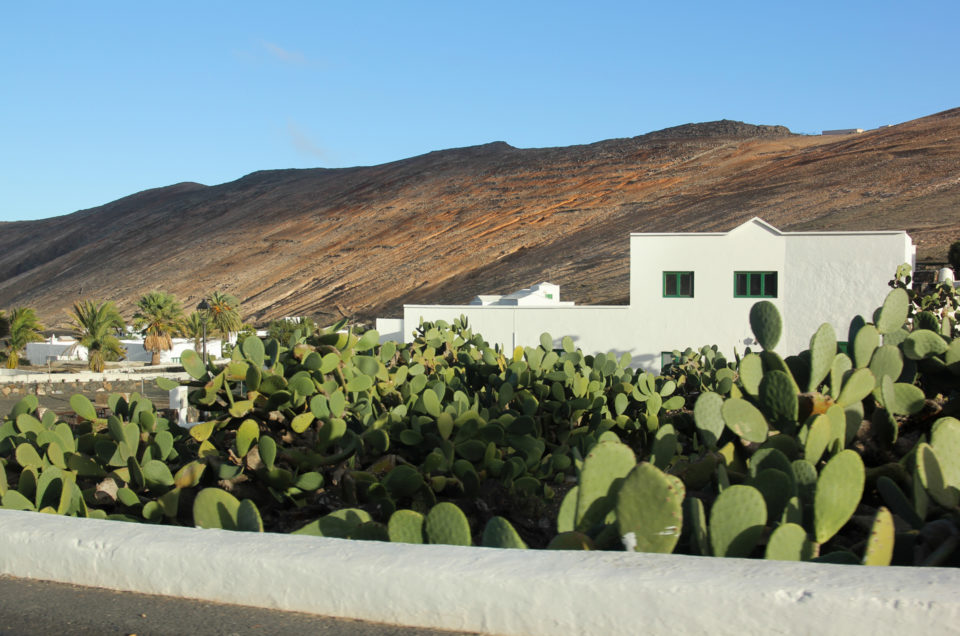 Lanzarote – walking on the Moon